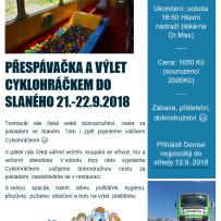 Výlet vláčkem Cyklohráčkem 21.-22.9.2018